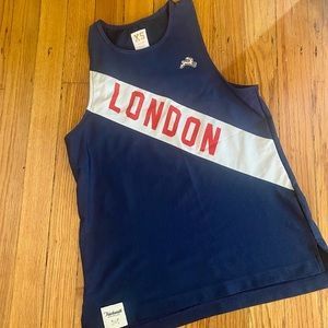 Tracksmith Women's London Van Cortllandt mesh singlet XS rare, limited edition